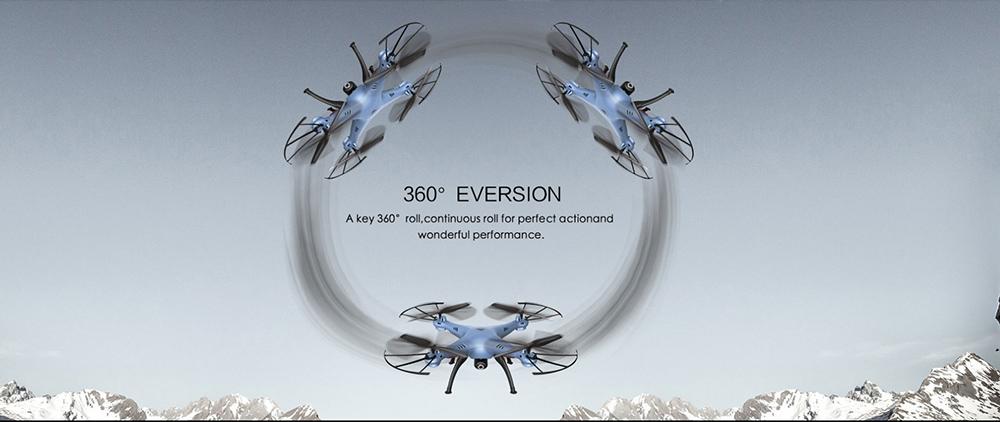 Syma-X5WH-360-TURN